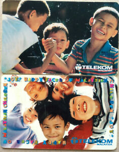 Malaysia Used Telekom Phone Card : 2 pcs Young Generation