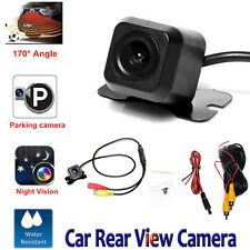 Car Reversing Camera Rear View Backwards Parking Wide Angle 170° Waterproof Cam