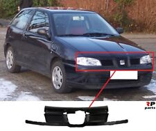 FOR SEAT CORDOBA IBIZA 99-02 NEW FRONT BUMPER CENTER KIDNEY GRILLE BLACK