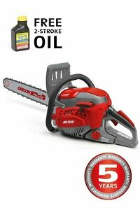 Mitox 455CSX Premium Petrol Chainsaw With Free 100ML 2Stroke Oil