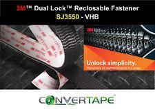 3M™ SJ3550 Dual Lock™ Heavy Duty Recloseable VHB Fastener 25mm x 1m