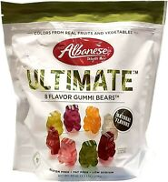 Albanese Natural 8 Flavor Ultimate Fruit Gummy Bears Snacks (40 oz. / 1.25 lbs.)