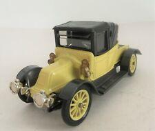 Corgi Toys Renault 1910 12/16 Coupe Closed Car - Corgi Toys Cars Yellow Version