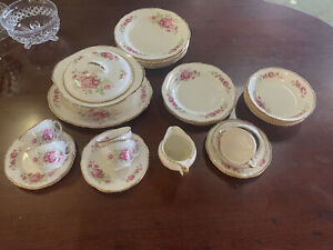 Woods And Ivory Ware Dinner Set