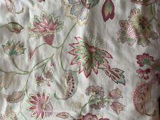 Cuddledown Queen Floral Flat Sheet