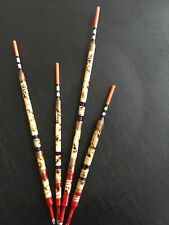 Handmade Scorched Reed Waggler Floats x4