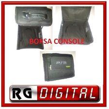 BORSA PER PLAYSTATION 3 PS3 VALIGIA PORTA CONSOLE GIOCHI CD TASCHE E TRACOLLA