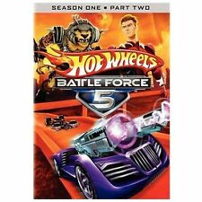 Hot Wheels: Battle Force 5 - First Season 1, Vol. 2 Two (DVD, 2010, 2-Disc Set)