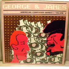 THE RESIDENTS - GEORGE & JAMES American Composer Series Vol.1 - LP Unplayed