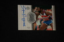 SPENCER HAYWOOD 2000 UD LEGENDARY SIGNATURES CERTIFIED AUTOGRAPHED CARD #SH