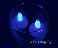 12 LED Floating Flickering Tea Candle Waterproof Wedding Party Floral Decoration
