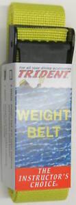 Scuba Diving Dive Weight Belt 58in Equipment Yellow WB36