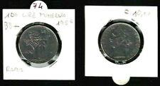 MONETA REPUBBLICA ITALIANA  LIRE 100 ANNO 1956 - BB+   RARA -   N.74