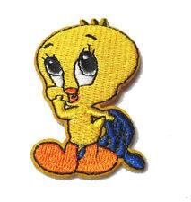 "Mtm Looney Tunes Tweety Bird Iron-on Badge, Patch Applique, 70mm x 39mm 3.75"""