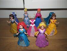 Disney Princess Polly Pocket Magi Clip On Doll's & Dresses Bundle / Job Lot
