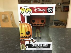 FUNKO POP! THE NIGHTMARE BEFORE CHRISTMAS #153 PUMPKIN KING - MINT RARE VAULTED