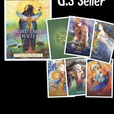 Sacred Earth Oracle Cards New Deck and Book Set by US Games Blue Angel