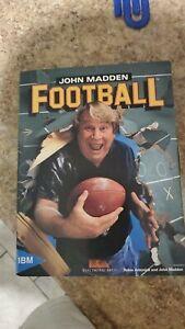 Vintage IBM game john madden football ,mint condition