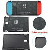 Protective Replacement Back for Games Switch Console Housing Shell Case Cover