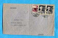1950 CIMAROSA £.20 x 2 + DEM.£.20 ann.ROMA, 03.01.50 + indicaz.ESPRESSO (302918)