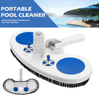 Swimming Cleaning Tool Spa Bath Pond Fountain Vacuum Brush Pool Cleaner Portable