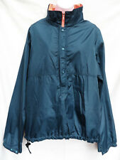 Vtg PATAGONIA Mens Blue Neon Pink Reversible Windbreaker Nylon Jacket Coat M
