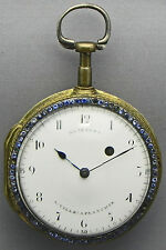 A 1 7/8 Inch Picture Verge Fusee Pocket Watch, Made By Glaesner - Circa 1782!!