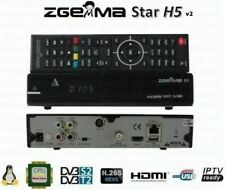 ZGEMMA H5 v2 COMBO HD FREESAT FREEVIEW RECEIVER - Power Supply Remote HDMI Cable