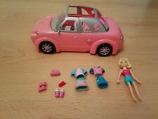 Mattel 2002 Polly pocket Rock n Pop Pink Limo with Polly Pocket & Accessories