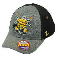 NCAA Zephyr Wichita State Shockers Flex Fit Medium Large Heather Stretch Hat Cap