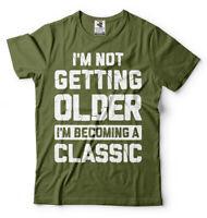 Birthday Gift Mens Funny Anniversary Gift Shirt Gift for dad Grandpa Husband Tee
