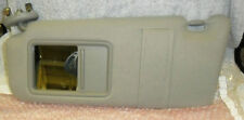 TOYOTA CAMRY 2008 DRIVERS SIDE SUN VISOR BEIGE WITH VANITY LIGHT 0400230706E0