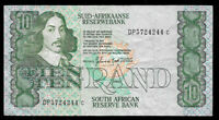 World Paper Money - South Africa 10 Rand ND 1985-90 P120d @ Fine Cond.