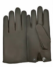 Driving Gloves Men's Dress Fashion Classic Real Leather Lambskin Chauffeur Style