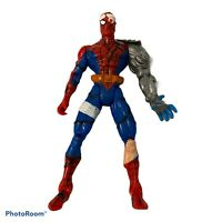 1996 Marvel Toy Biz Cyborg Spider Man Spider Wars Animated Action Figure