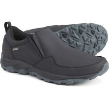 Merrell Men's Ice Cap Guide Shoes Insulated Slip On Mocs Black