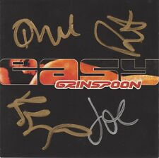 SIGNED CD SLEEVE - GRINSPOON