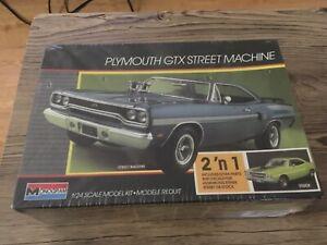 monogram model kit Plymouth Gtx Street Machine Sealed