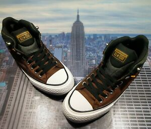 Converse Chuck Taylor All Star Street Boot High Chestnut Brown Size 8 161469c