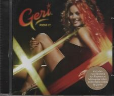 GERI HALLIWELL Ride it 4 TRACK CD  NEW - NOT SEALED