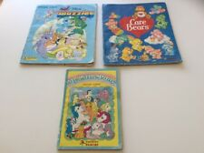 Care Bears, Wuzzles & My Little Pony Panini Sticker Books