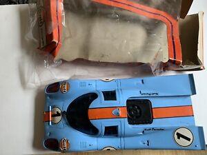 Rare Vintage Pocher Torino  Gulf Porche 917 - With Original Packaging