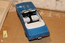 B41 Danbury Mint 1969 Chevrolet Camaro SS/RS Convertible 1:24 Blue, Title