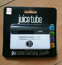 NEW Genuine Juice Tube Portable Battery Power Bank. IPhone Mobile charger BLACK