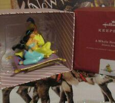 Hallmark Ornament Disney Aladdin Jasmine Carpet A Whole New World Porcelain