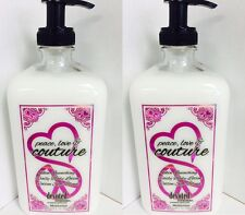 2 Peace Love and & Couture Moisturizer After Tan Body Lotion Devoted Creations