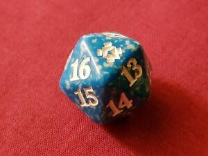 Magic The Gathering ZENDIKAR RISING BLUE D20 SPINDOWN DICE DIE New MTG
