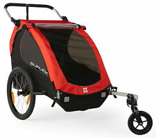 Burley Honey Bee Compact Fold 2 Kids Bike Bicycle Trailer Double Baby Stroller