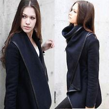 Winter Damen Duffle Coat Trench Blazer Mantel Jacke Lang Parkas Winterjacke Lp