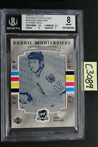 2006-07 The Cup - DAVE BOLLAND - Rookie RC Printing Plate 1/1 - BGS 8 (C3089